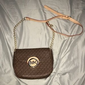 Fulton logo crossbody Michael Kors purse